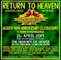 Return To Heaven event flyer